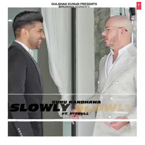 Just 2 days to go for SLOWLY SLOWLY Can't wait @pitbull sir @TSeries @itsBhushanKumar sir 🙏😊