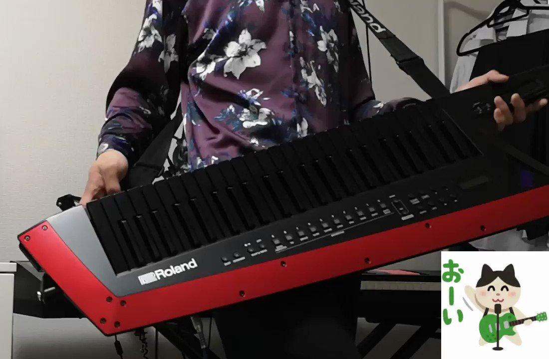 すーぱーぬこになれんかった/まふまふキーボードソロを弾いてみたけど早すぎて弾けなかった