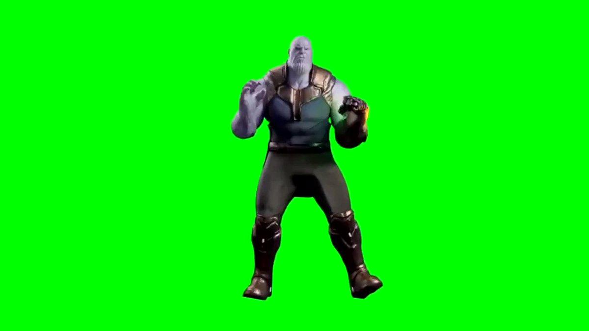 Shake that booty thanos