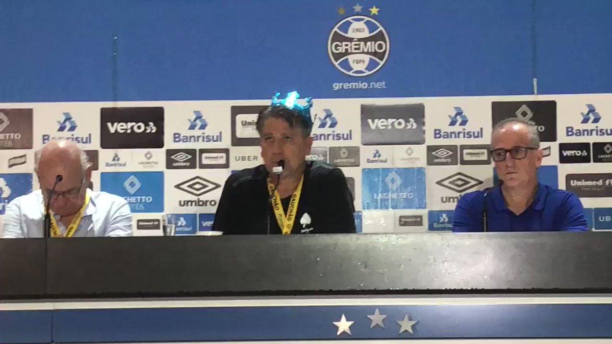 Conta nova: Grêmio Future's photo on Renato Portaluppi