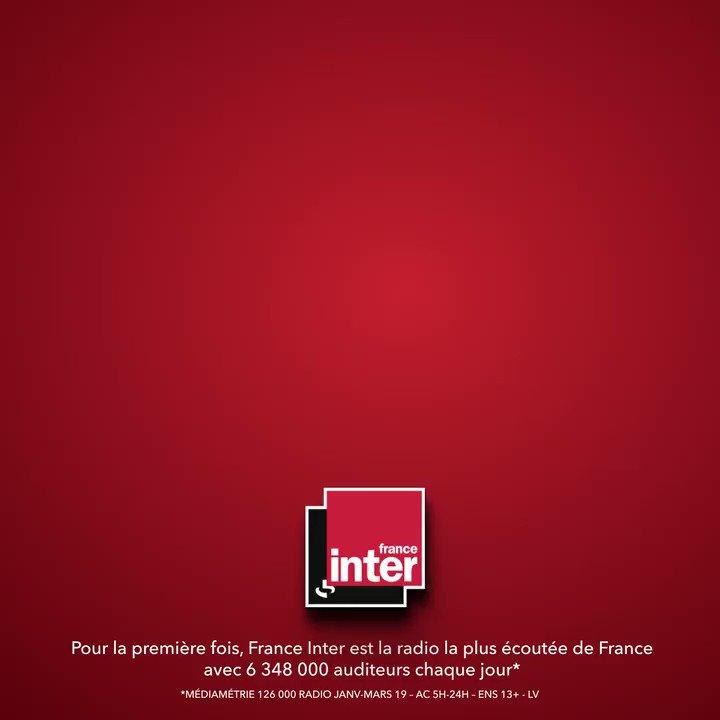 France Inter's photo on #AudiencesRadio