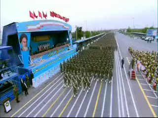 Army Day parade in #Iran.