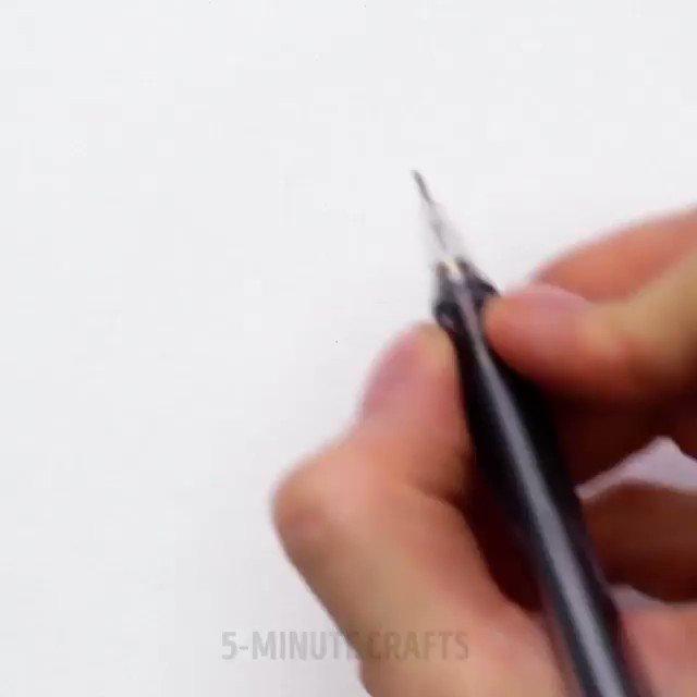 Easy pencil drawings for beginners. ✏