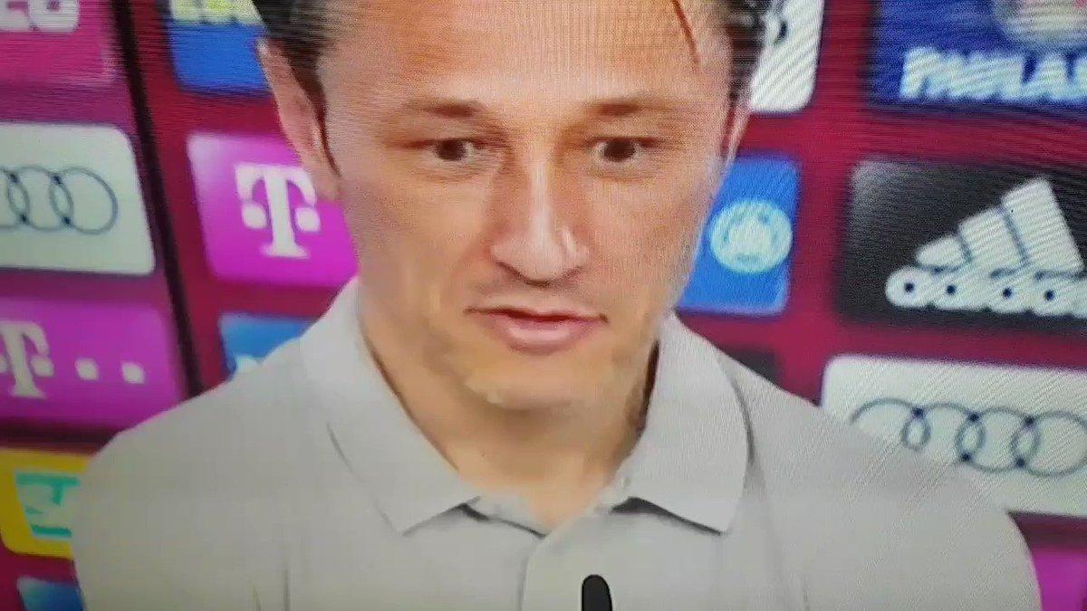 Niko Kovac denkt an seinen Ex-Klub ;-) #sge #sgebenfica #eintracht