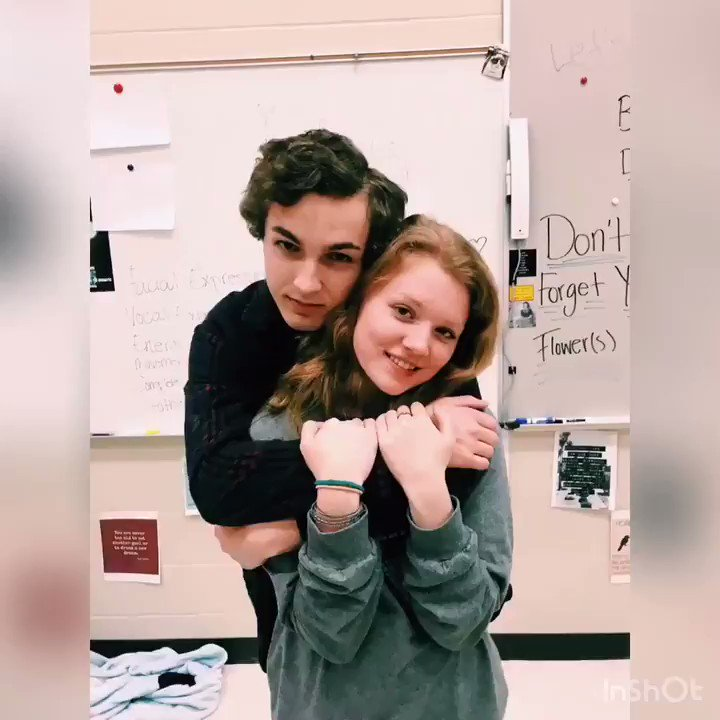 Huge thank you to the ahs drama department for putting this boy in my life. Happy one year love, I love you❤️ @austin_zwaschka