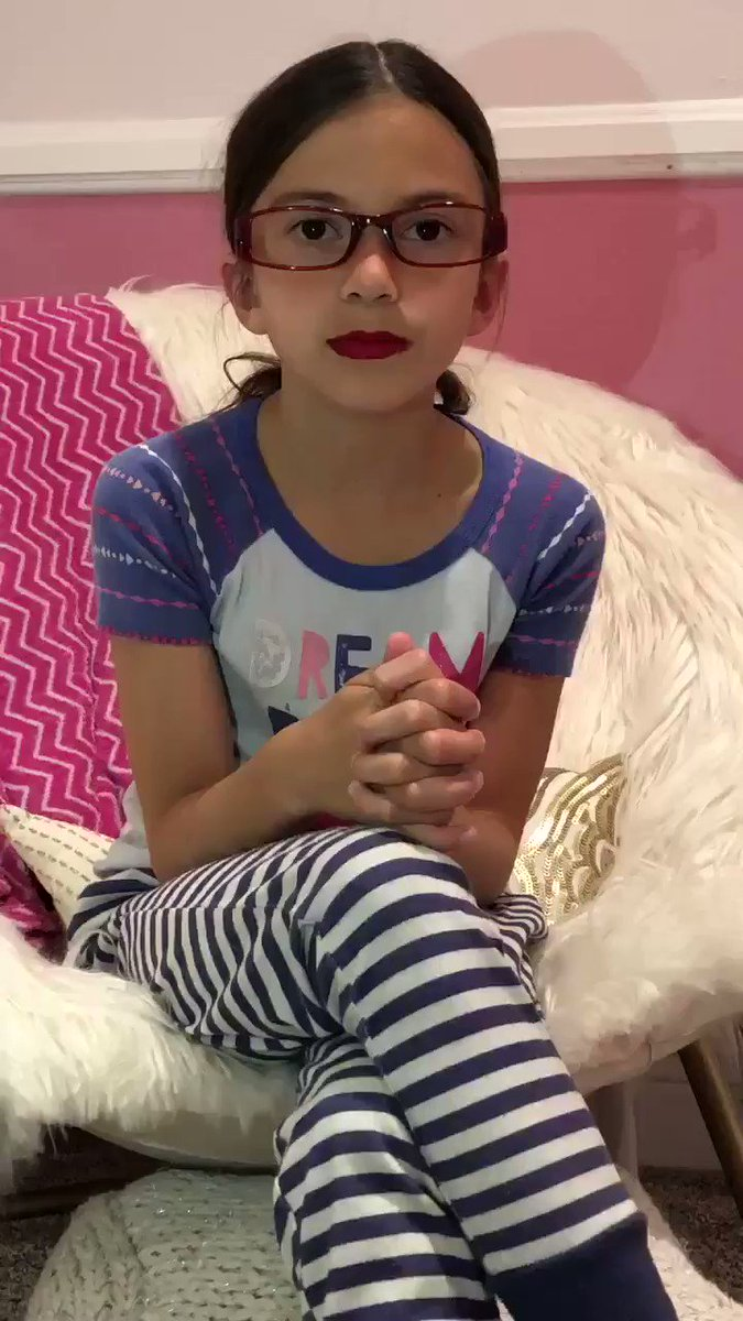 This sweet, adorable, 8yo actress is not only much cuter than the real #AlexandriaOcasioCortez but she's also already much smarter too. I asked her to do this video because when #AOC is talking this is what we're all thinking. We're better off with this sweetheart in Congress.