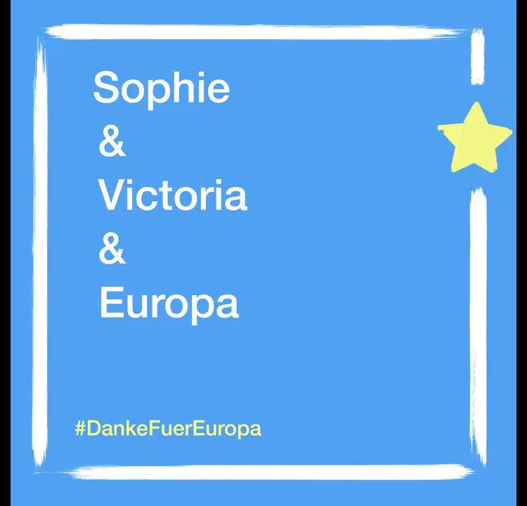 Victoria sagt #DankeFuerEuropa  Ein solidarisches Europa für Alle!💙 🇪🇺 Was schätzt du an #Europa?  http://artikel-eins.de/europa