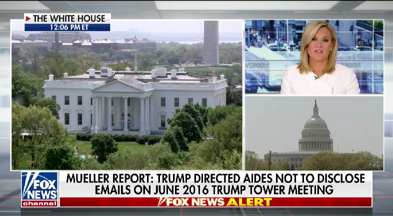 WATCH: @BillHemmer and @SandraSmithFox spoke with @marthamaccallum after the redacted Mueller report release #nine2noon