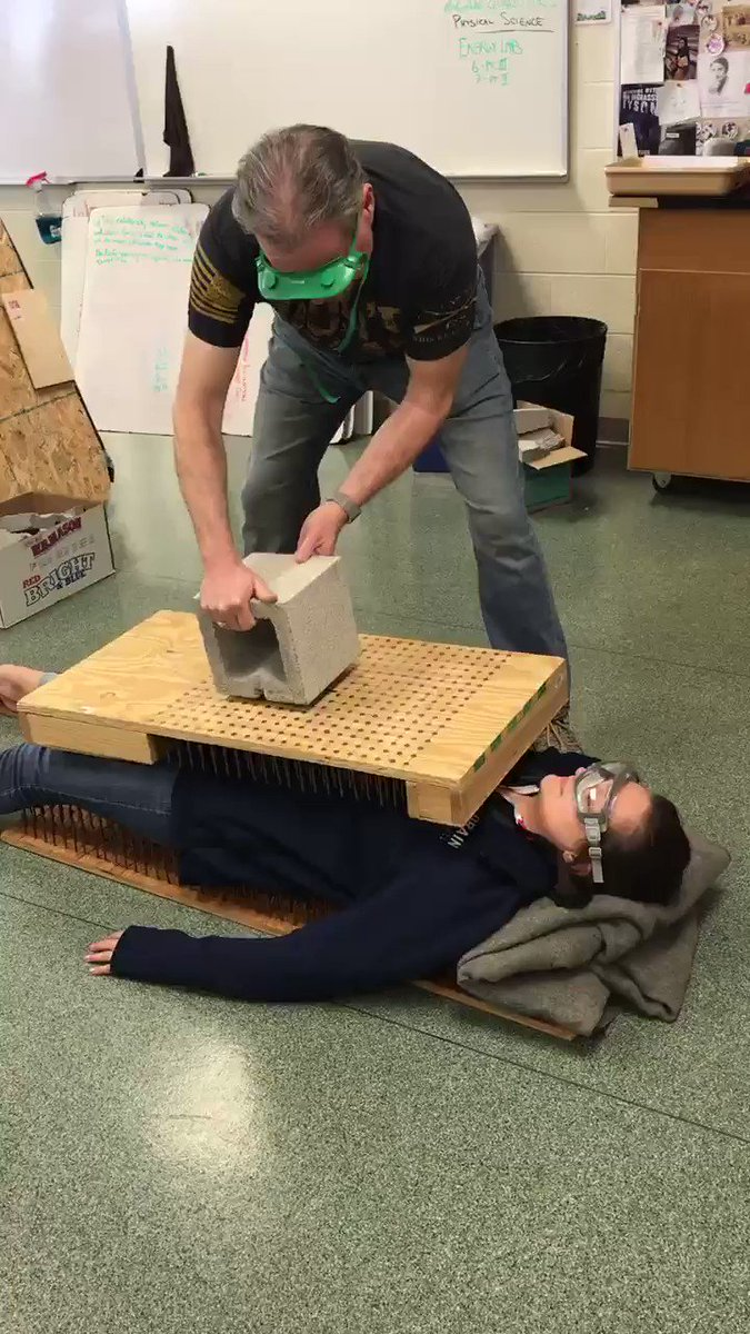 Thanks Mr. Deremer for letting me join in on the physics fun! #Physics #ScienceTeachers #SteeleScience