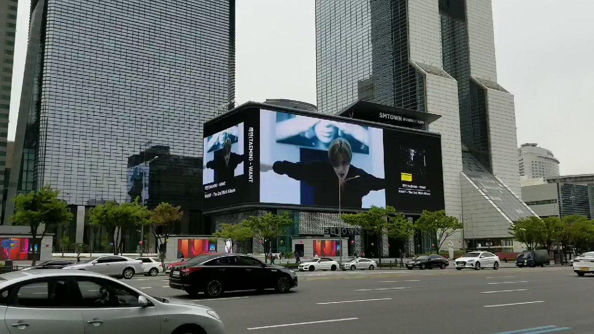RT @smap05278hk: わー! 突然のテミンちゃん! Coexの大ビジョン!  #テミン #Taemin #WANT #태민 https://t.co/vWqfRJeJA3
