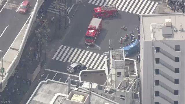 NHKニュース's photo on 歩行者
