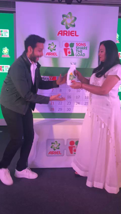 On #NationalLaundryDay, @SiddhantChturvD pledged to #ShareTheLoad with his mom! Have you?