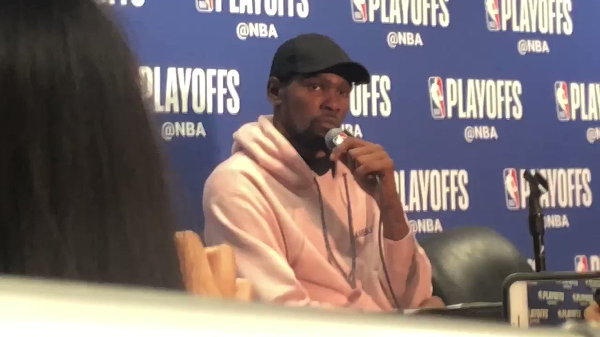 """Kevin Durant: """"I've been in the league 12 years. I'm 30. I don't need to show nobody nothing at this point."""""""