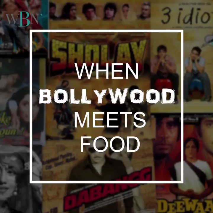 This is what happens when Bollywood meets food!  Here are some of the craziest names that @HitchkiIndia (Mumbai) gave it to their food. If you're a foodie and creative, beat this!!  #WBN #restobar #hitchki #bollywood #weekend #food #chill #weekendvibes #whatsbrandnew