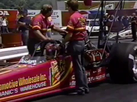 We are taking you back to 1988 and the Budweiser Springnationals at National Trail Raceway!  This race was between Eddie Hill and Shirley Muldowney in the second round of Top Fuel!  #nationaltrailraceway #tbt #dragracinghistory #eddiehill #topfuel #nitro #shirleymuldowney #nhra