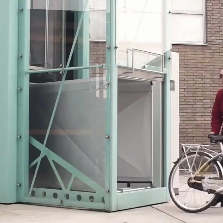 What do you think about this smart parking system for bicycles?