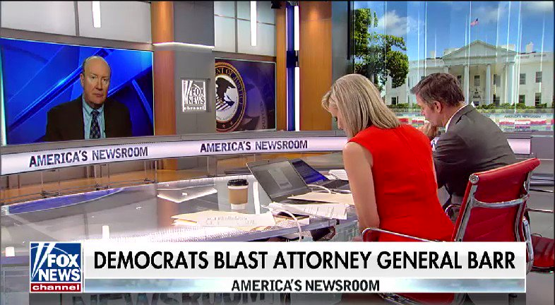 WATCH: @BillHemmer and @SandraSmithFox spoke with @AndrewCMcCarthy after Democrats blast Attorney General Barr #nine2noon