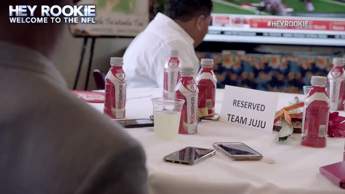 When @CoachTomlin calls on draft day, you best answer.  #HeyRookie | @TeamJuJu | @steelers