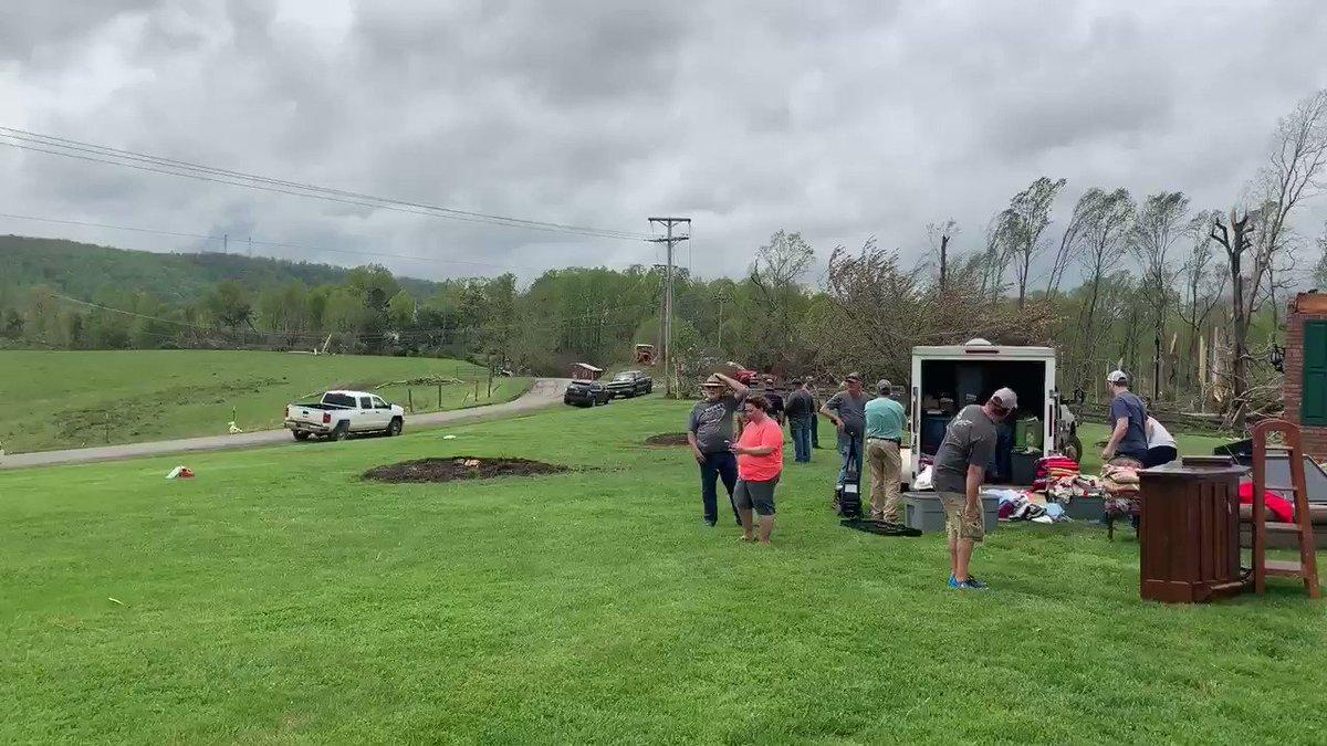Damaging tornado ripped through Reston on Friday night