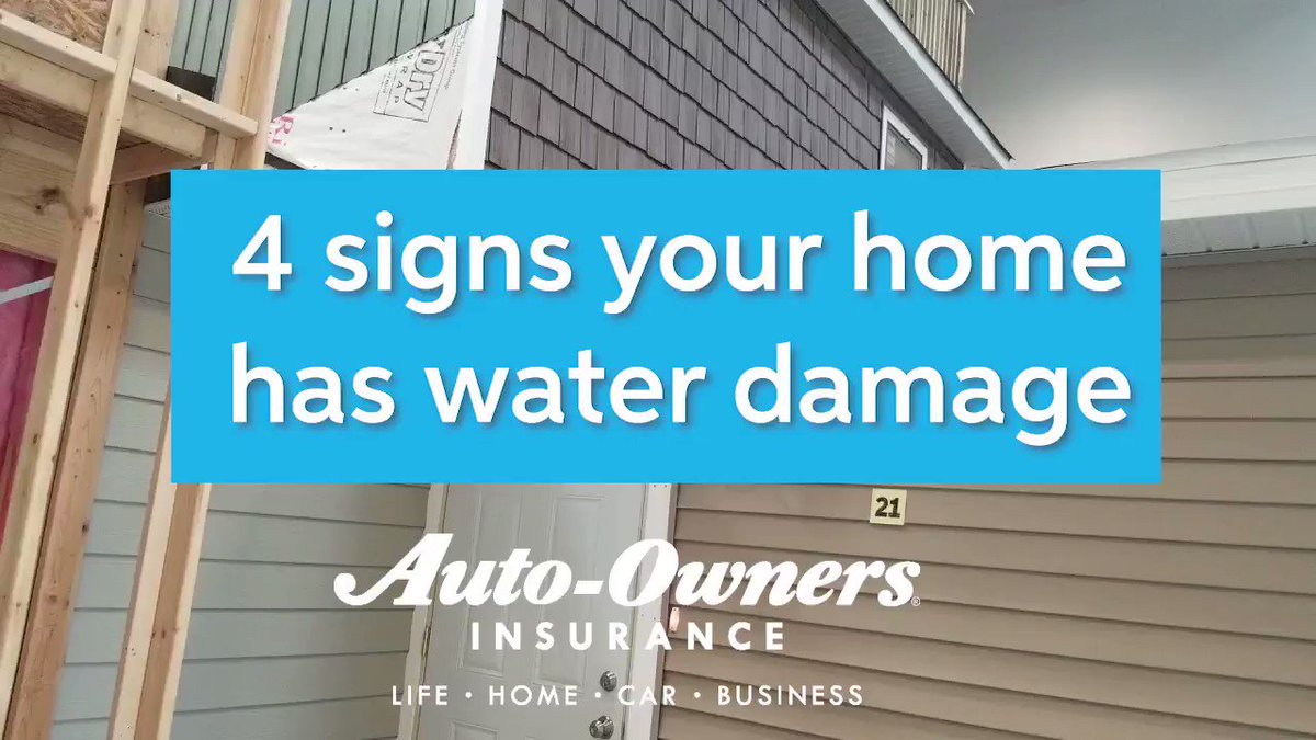 Here are four quick spots to check for water damage 🌧 #RainyDay