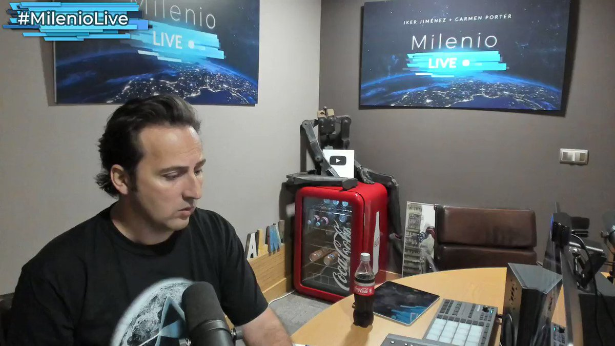 Iker Jiménez's photo on #MilenioLive