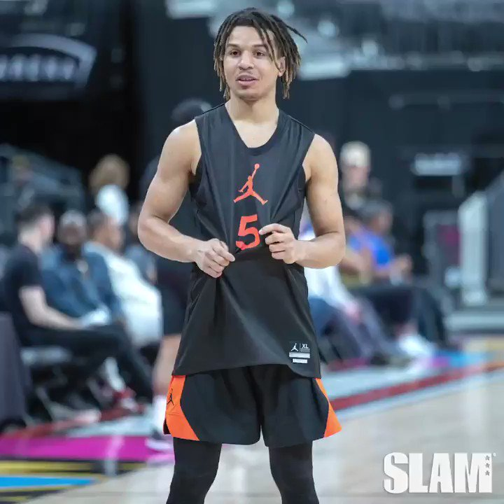 Cole Anthony & Anthony Edwards TEAM UP!? Jordan Brand Classic Practice Highlights 🔥@JordanClassic   🎥: https://youtu.be/F0vlPosFFnc