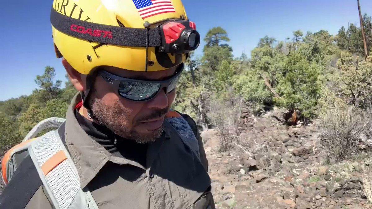Day 2: Bandera Volcano lava tubes in New Mexico.