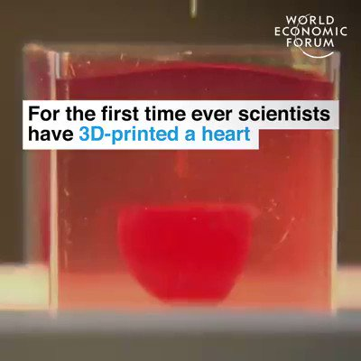 Scientists have 3D-printed a working heart
