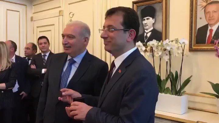Ekrem Imamoglu's photo on De VAR