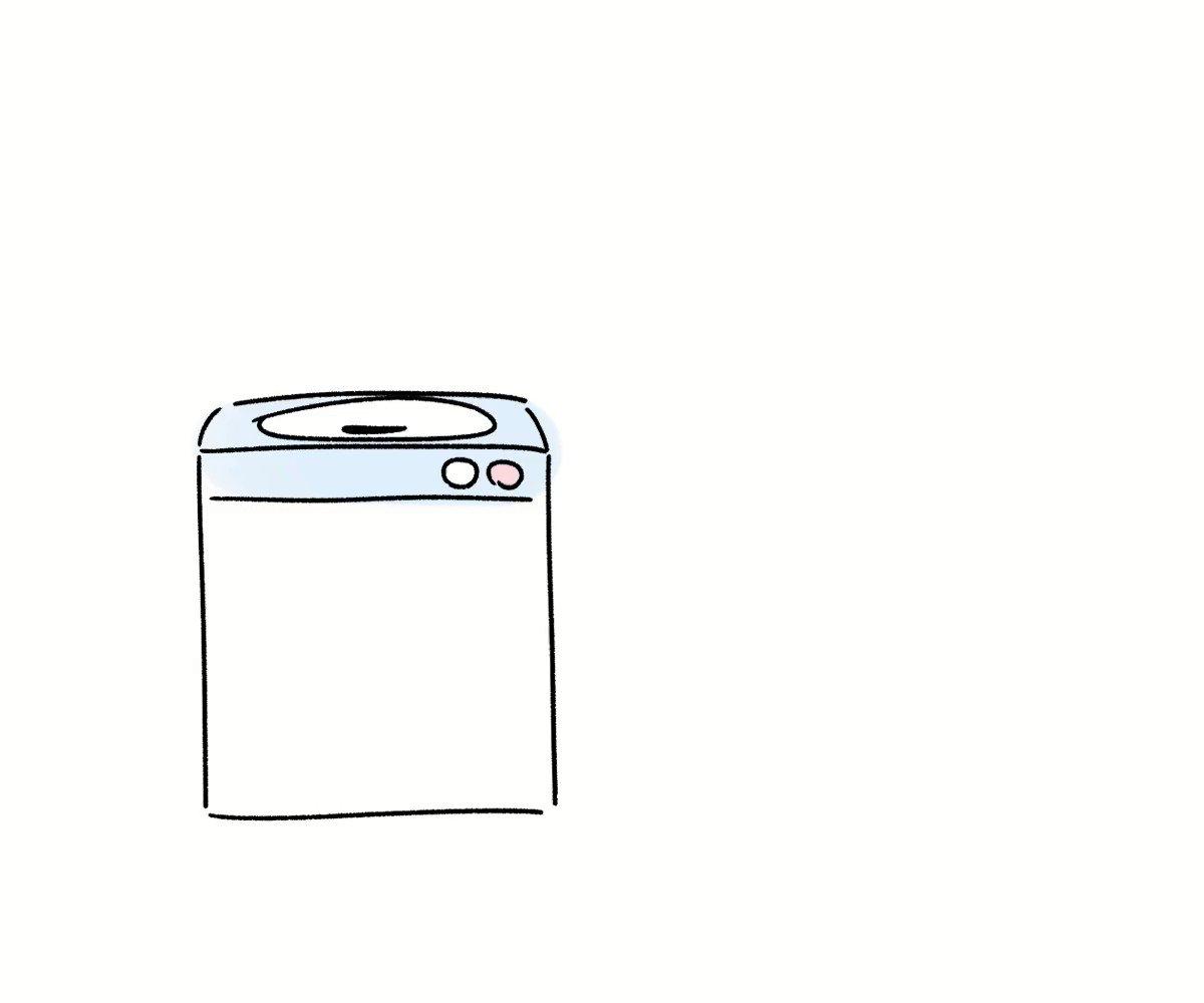 RT @purinharumaki: 洗濯機くん https://t.co/BSN3V6HTmt