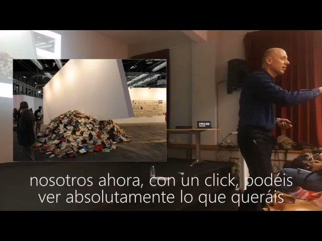 #ArteActivo #conferencias @SergioDPintor ©cafeconvertes