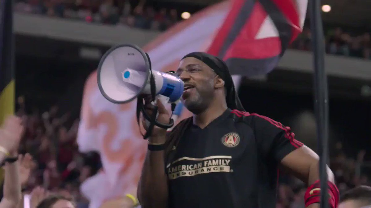 """""""I used to go to the barbershop talking about soccer, they see minivans, they see orange slices … When you come to an @ATLUTD game, that's Atlanta."""""""
