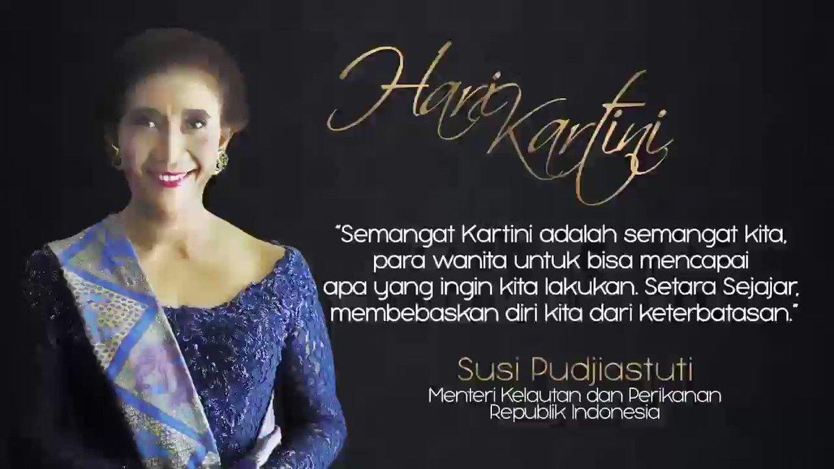 Susi Pudjiastuti's photo on Selamat Hari Kartini