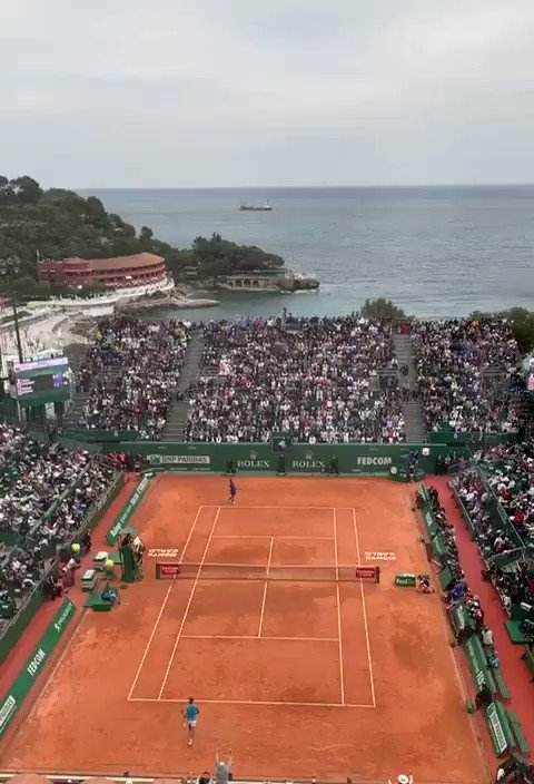 Image for the Tweet beginning: Stupeur à Monte-Carlo #MonteCarloMasters