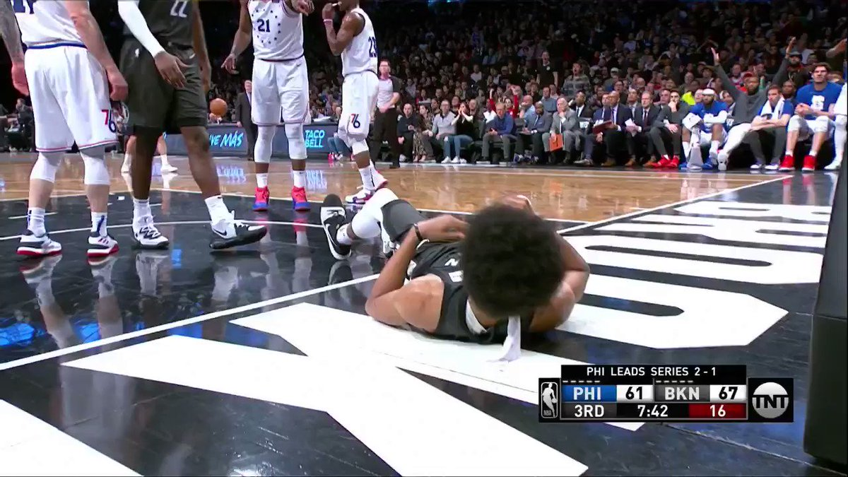 Jimmy Butler and Jared Dudley have been ejected after this #NBA #NBATwitter #WeGoHard #HereTheyCome