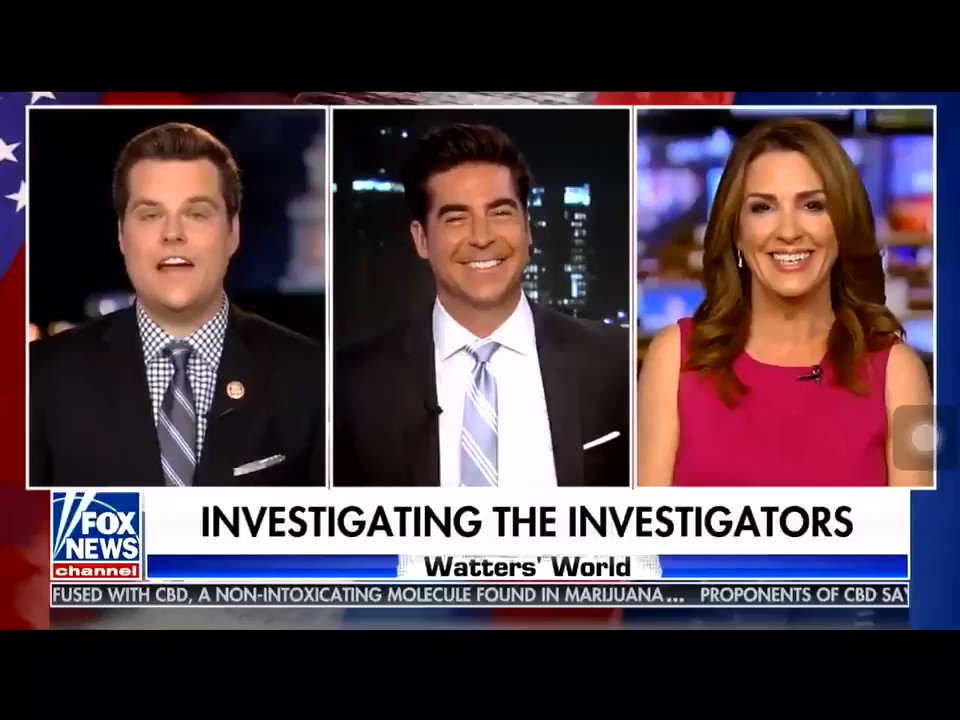 Gatez: They're not off the hook. Another Little nugget the IG is looking at is the corruption between the FBI and the media. We will be seeing it before we see the IG Report on how this fraudulent investigation got started.