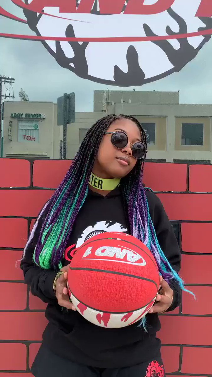 Thanks for having me today @MishkaNYC + @and1basketball 🏀🏀🏀