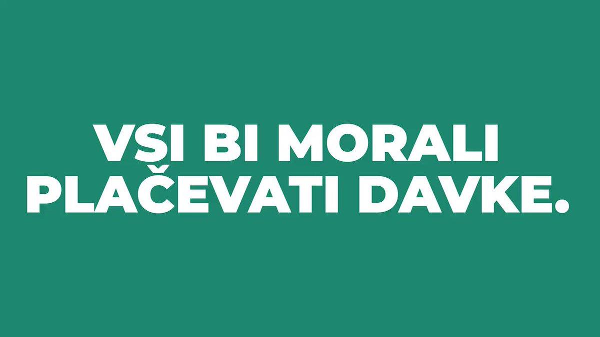 Image for the Tweet beginning: Socialna demokracija ne bo dovolila,