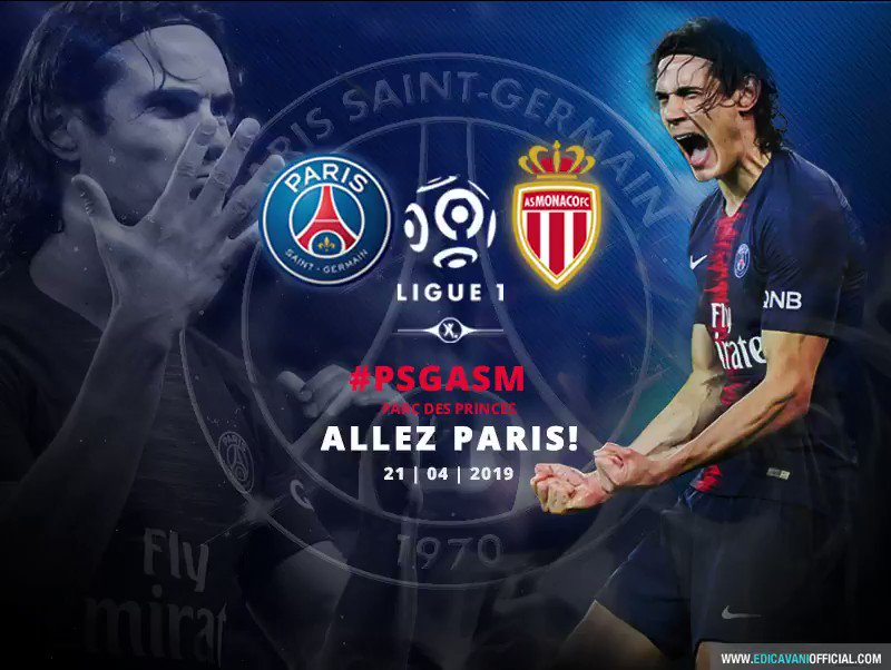 Edi Cavani Official's photo on #PSGASM