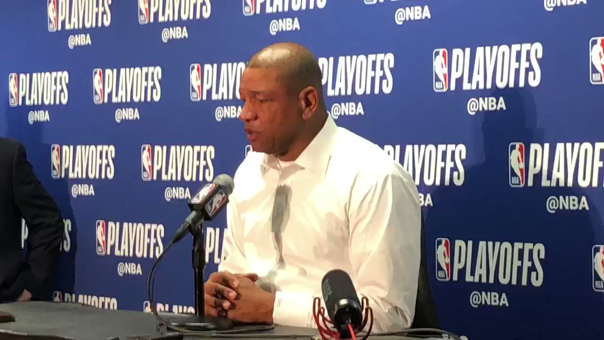 Doc Rivers on if Donald Sterling incident from 2014 prompted more NBA players to speak out on issues outside of basketball. #Warriors #Clippers