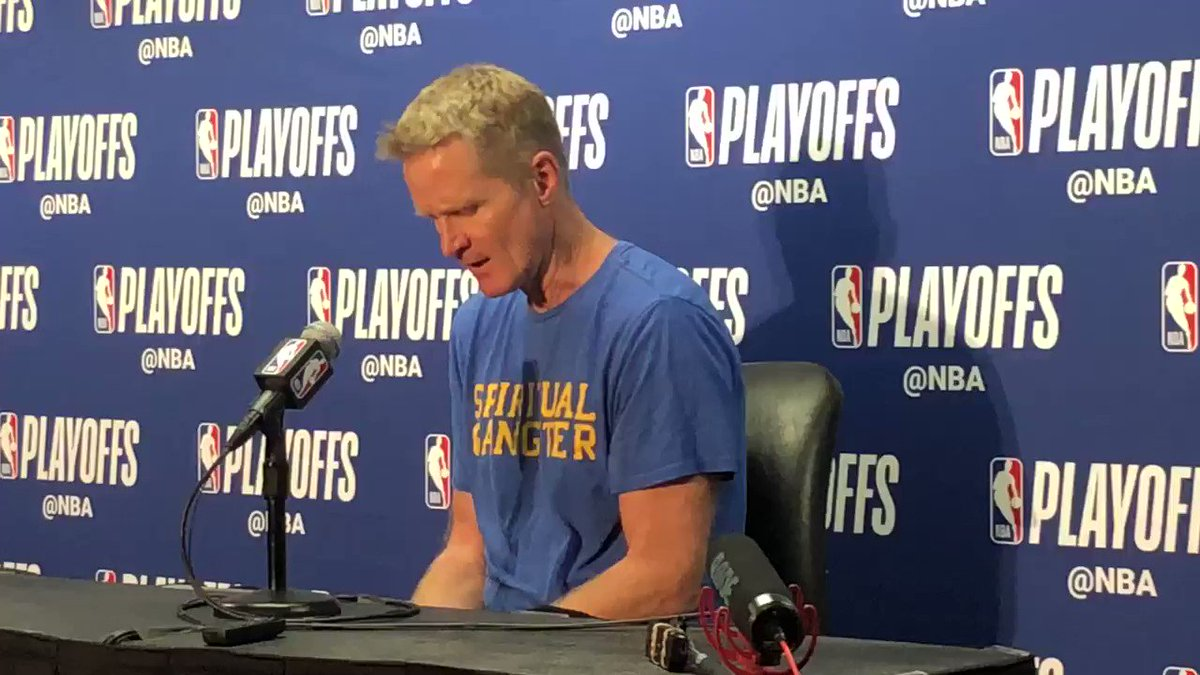 Steve Kerr on Doc Rivers assertion that Donald Sterling incident from 2014 led to more players in all sports to speak out on issues outside of basketball. #Warriors #Clippers