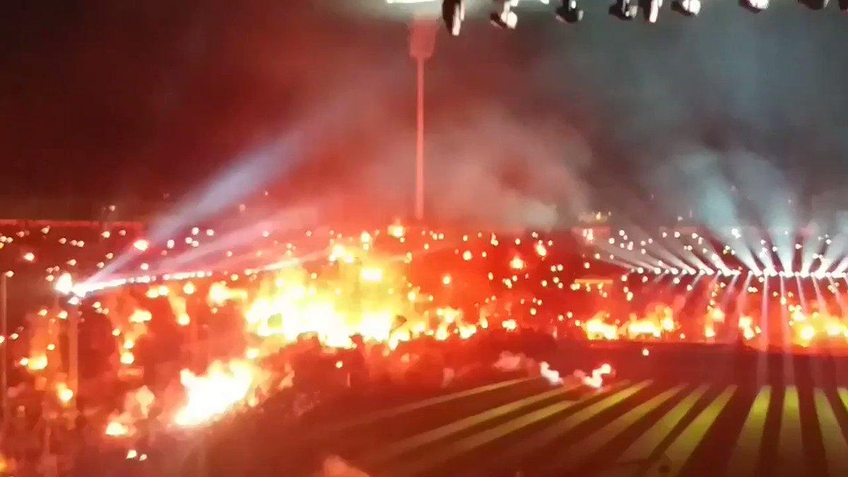 34 años después el PAOK es CAMPEÓN de Grecia !  Menuda brutalidad de celebración...  🔥🔥🔥🔥🔥🔥🔥🔥🔥🔥🔥