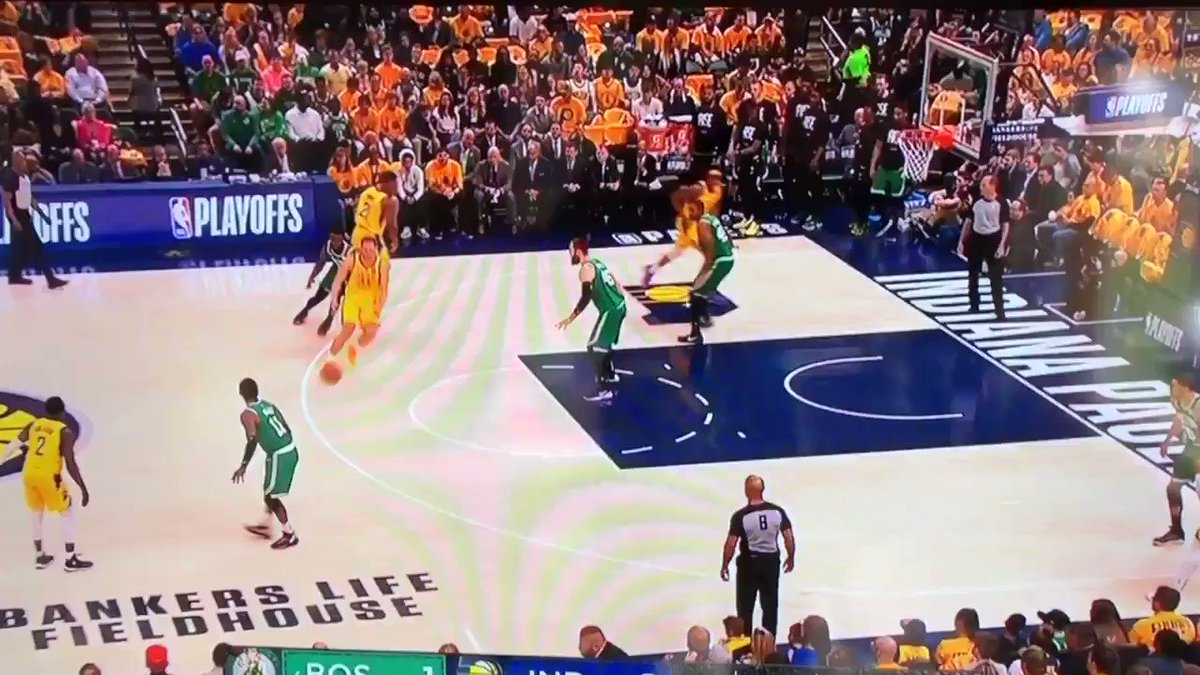Aron Baynes Celtics vs Pacers Game 4 Stats and Highlights  Minutes: 18 Points: 2 (1/1 FG. 100% ... again) Rebounds: 2 Steals: 1 Fouls drawn: 1 Charges drawn on own team: 1  Final Grade 🧹🧹🧹🧹