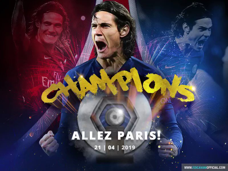 Edi Cavani Official's photo on Allez Paris