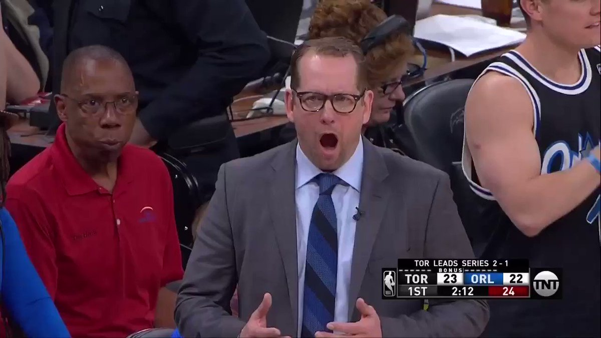 Raptors coach Nick Nurse instantly became a meme with reaction to call