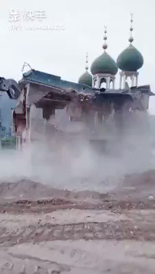 While the world continues to mourn the accidental burning of the Notre Dame Cathedral, it also chooses to ignore Chinas intentional destruction of mosques in East Turkestan, some as old as 800 years of age. PS: 2 million Muslims are in Chinese concentration camps!