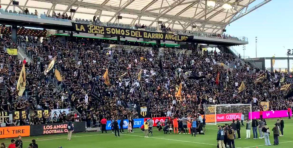 The Best part !!!!! Love this club !!! #lafc #LAFC3252 #losangels #football #club #velaformvp