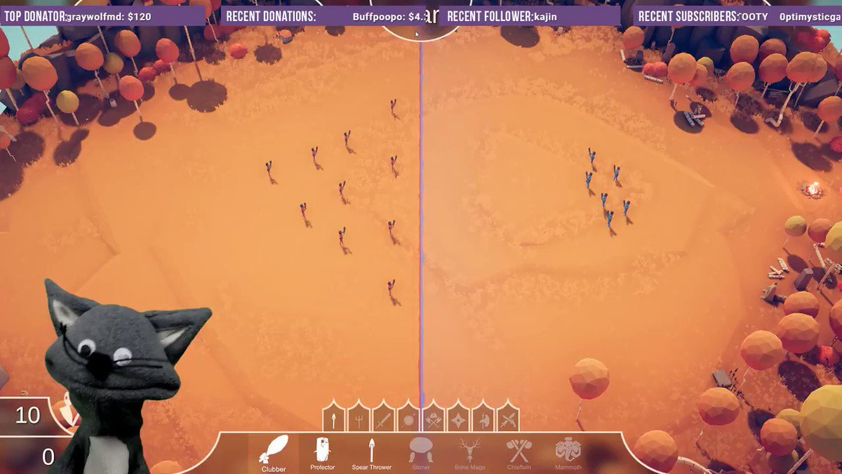 Last night I tried Totally Accurate Battle Simulator by @LandfallGames and within the first match I was IN LOVE. It's so silly and the camera controls are so neat!