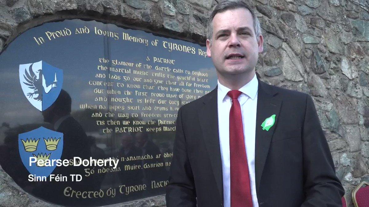 Image for the Tweet beginning: .@PearseDoherty Sinn Féin TD Pearse