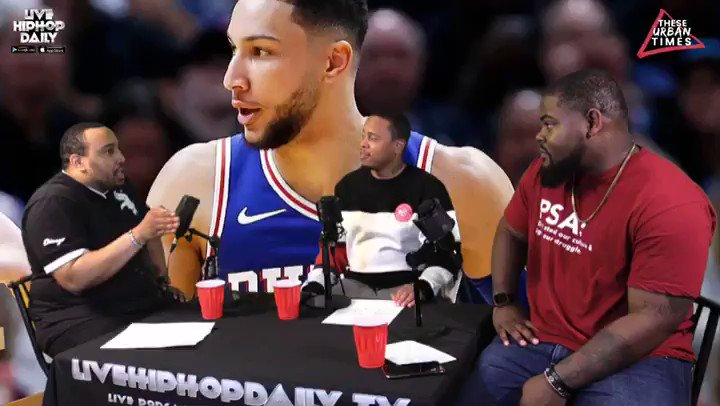 "✊🏽🎼🏈🏀 On Thursday on @theseurbantimes presents ""Sideline Stories"" @ceotriche, @chevellecruz & I discussed if the #Sixers can win a championship with #bensimmons!   Catch the full show by clicking the link in My bio for all our ""Sideline Stories"" show/podcast! #NBAPlayoffs"